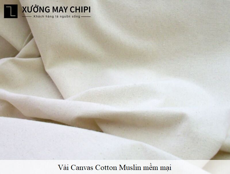 vai Canvas Cotton Muslin