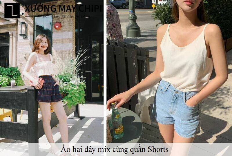 Ao hai day mix cung Shorts