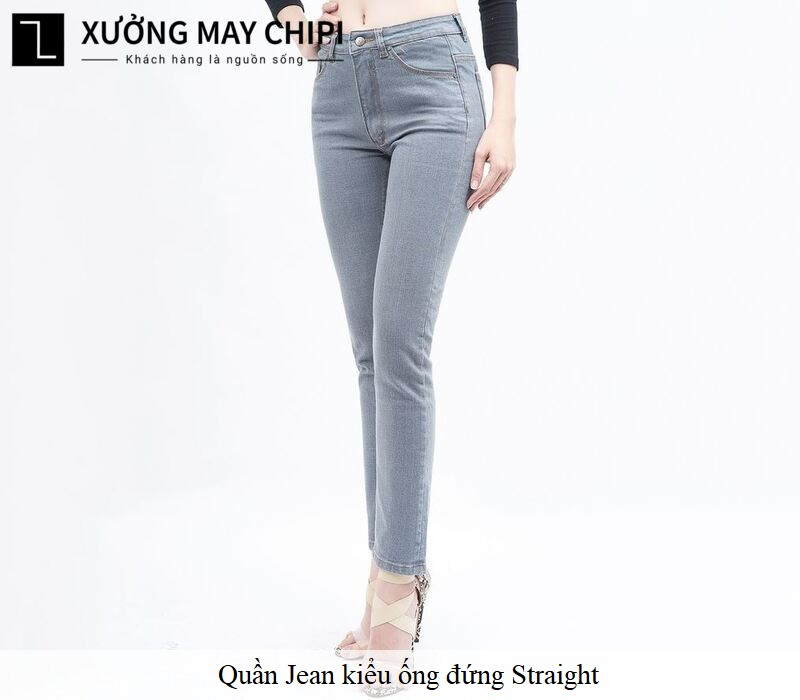 quan jean ong dung straight